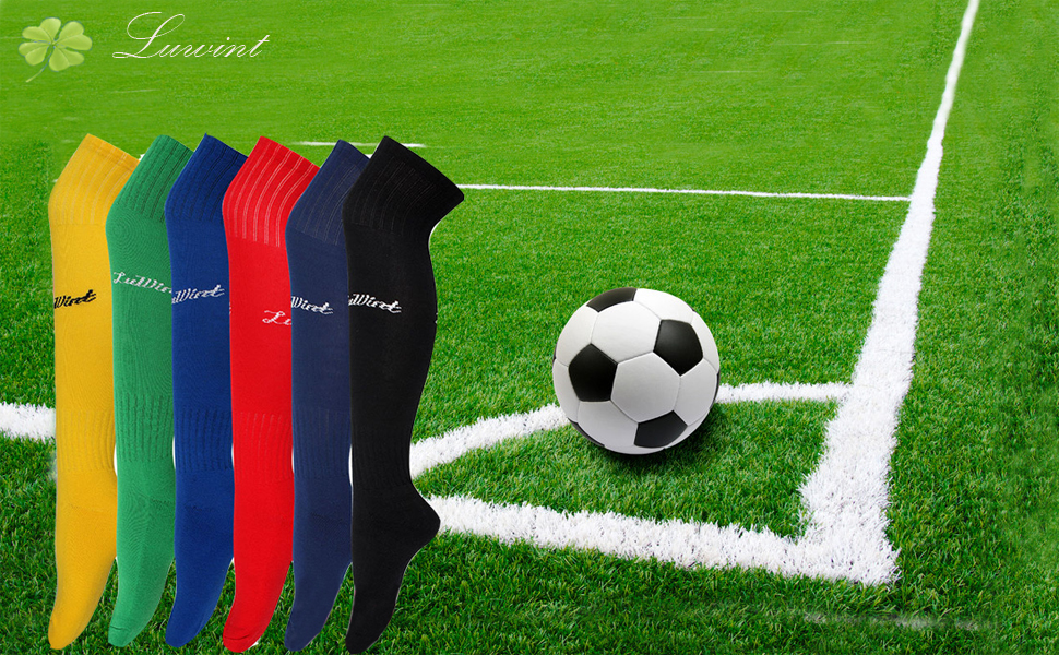 894851ec9 ... Cotton Thicken Long Soccer Socks for Men and  Women--------------------------------------
