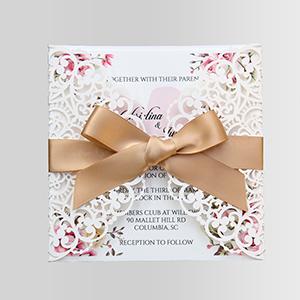 Amazon.com: Doris Home Invitar invitaciones de boda Tarjetas ...