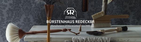 redecker handmade in germany crafstman artisan duster broom pot pan scrub dish brush long-lasting