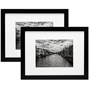 9x12 Two Pack Picture Frame with Mat to 6x8