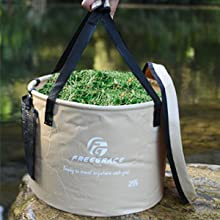 bucket for grass and flowers