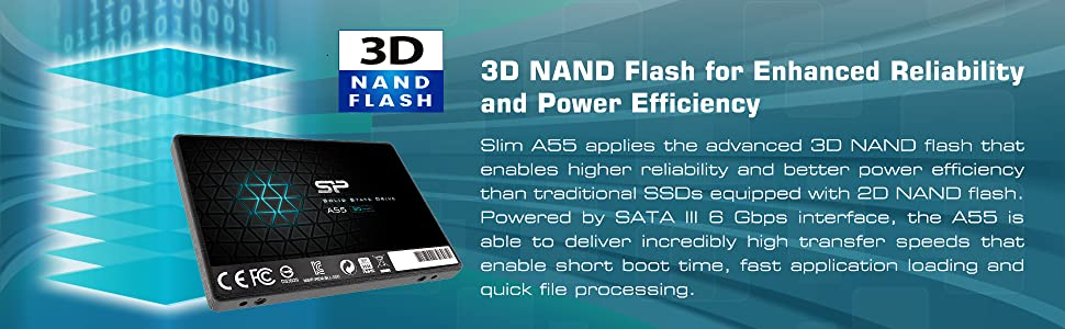 Silicon Power -  3D Nand Flash