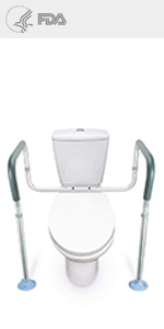 Amazon Com Oasisspace Stand Alone Toilet Safety Rail