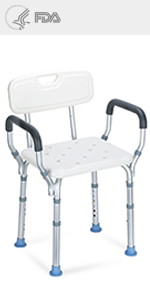 Shower Chair Back Arms