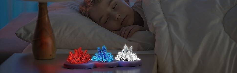 Lights up at night