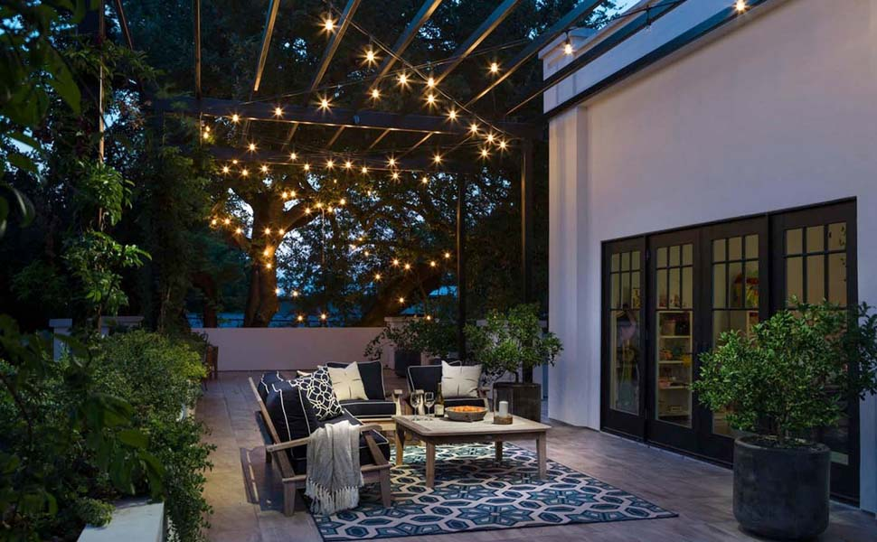Lampat String Light Will Help You Create An Amazing Look For Your Outdoor  Space. Zone Off Your Dining Or Entertainment Area With Lights To Create Not  Only A ...
