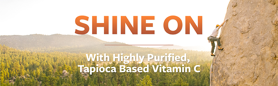 Highly Purified, Tapioca Based Vitamin C