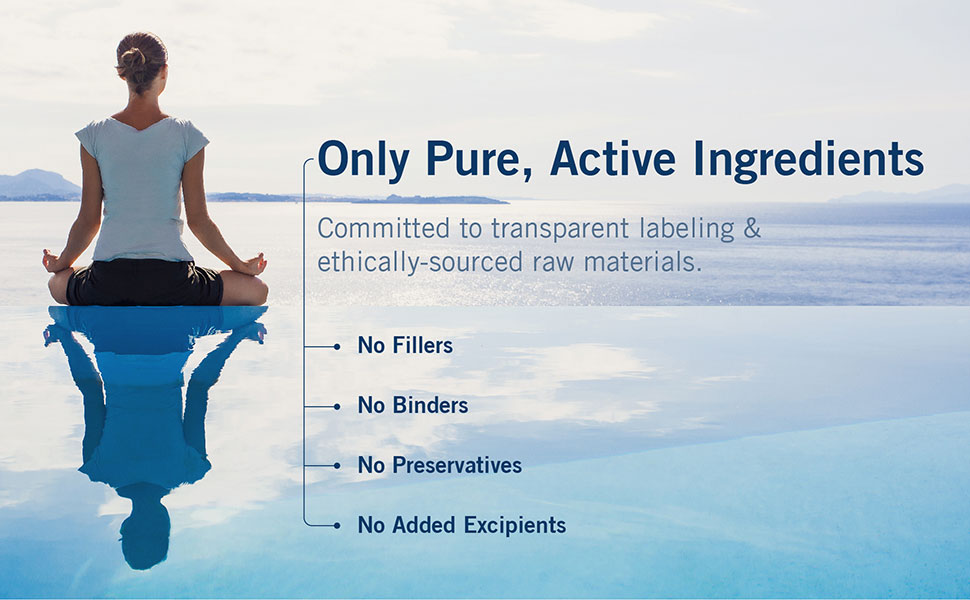 Only Pure Active Ingredients