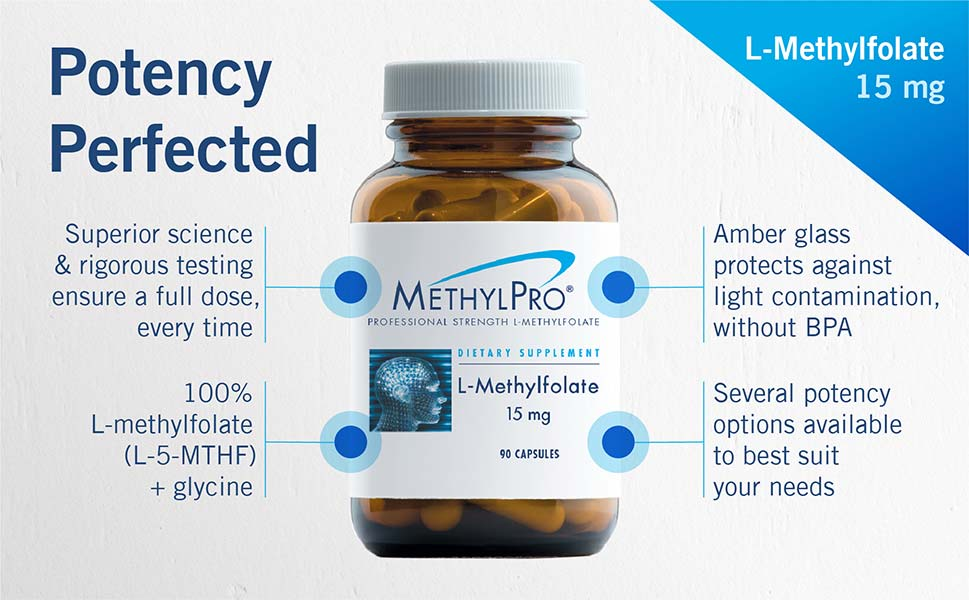 Amazon.com: MethylPro - 5-MTHF L-Metilfolato, 15 mg, 1 ...