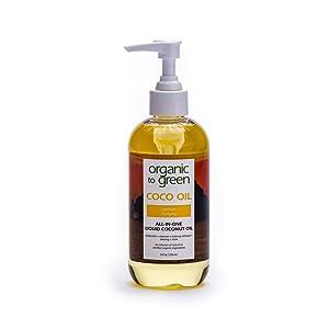 Aceite De Coco Líquido Orgánico A Verde Purificador De Limón 1 8 Onzas Líquidas Beauty