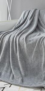 Light Grey Flannel Blanket