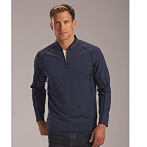 Rule 18 Mens Tech F1 1//4 Zip Wicking Pullover Sweater 56/% OFF RRP