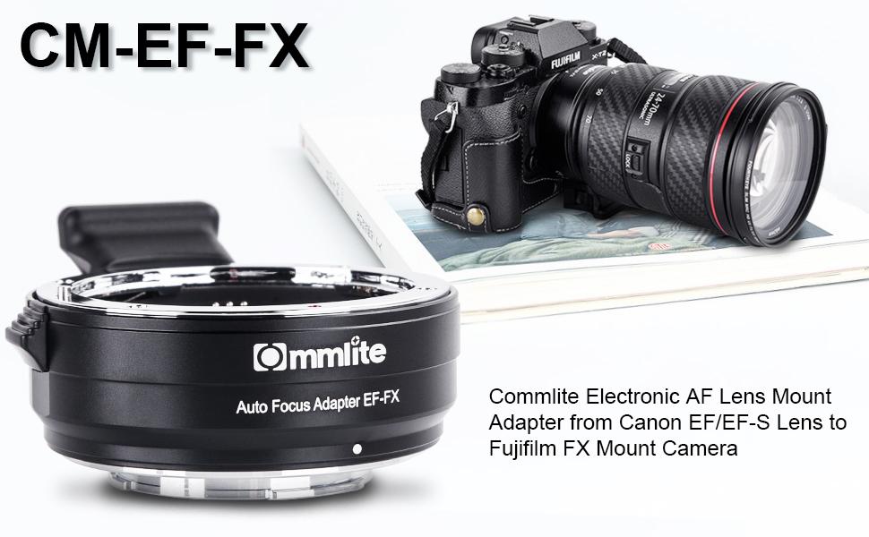 canon ef to fujifilm x mount adapter