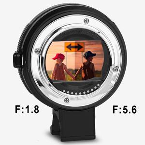 Lens Adapter EF to E-Mount High-speed AF (Black) (Commlite)
