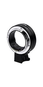Amazon com : Commlite CM-EF-EOS M Electronic Auto-Focus Lens Mount