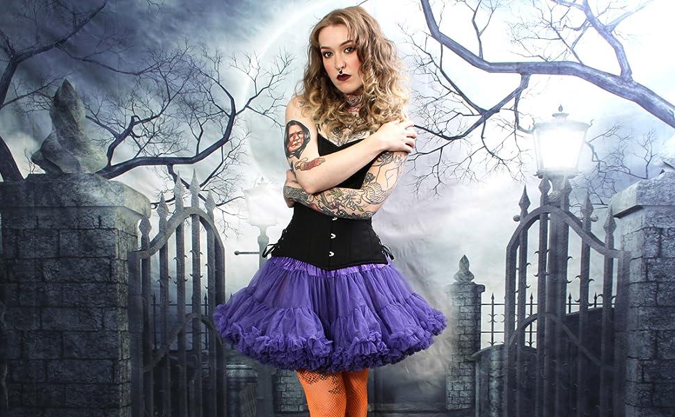 vintage, halloween, pettiskirt, petticoat, 50s dress, steampunk