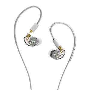 M7 PRO Universal-Fit Hybrid Dual-Driver Musicians In-Ear Monitors with Detachable Cables The next-generation universal-fit musicians monitors from MEE ...