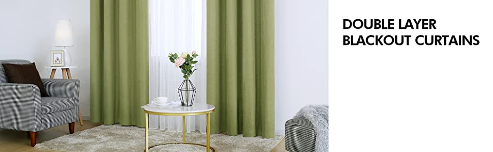 blackout curtains window curtain panels for children's room thermal blackout curtains 100