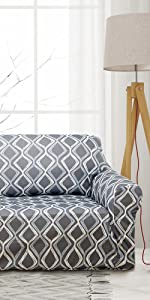 print sofa cover