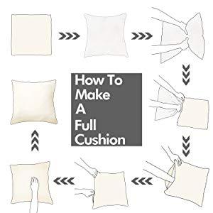 cushion cover step