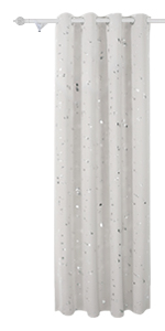 silver curtains 63 inch length