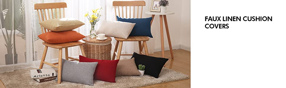 throw cushion covers pillow cases pillow covers black cushion covers deconovo pillow covers