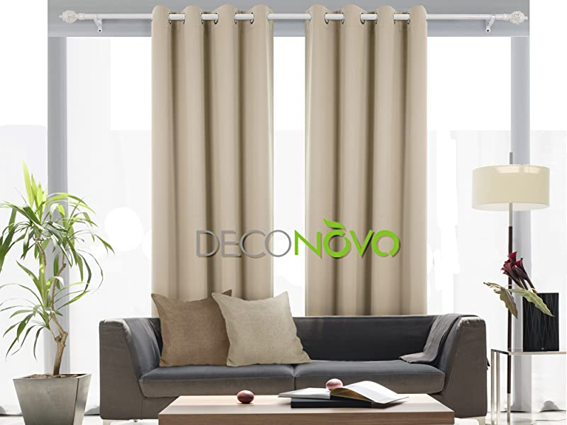 Deconovo Grommet Window Thermal Insulated Blackout Curtain