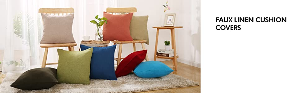 christmas winter cushion covers decorative cushion covers linen pillow covers