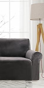 velvet sofa cover