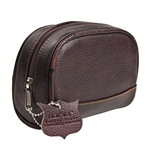 ad034360de Create an unparalleled shaving and grooming experience right in the comfort  of your own home! Our small sized genuine leather Dopp Bag Toiletry ...