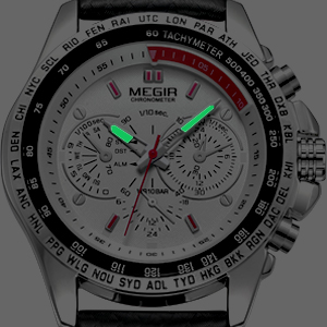 Luminous watches for men
