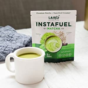 Matcha Instafuel - provide the minerals and nutrients you need to sustain your energy