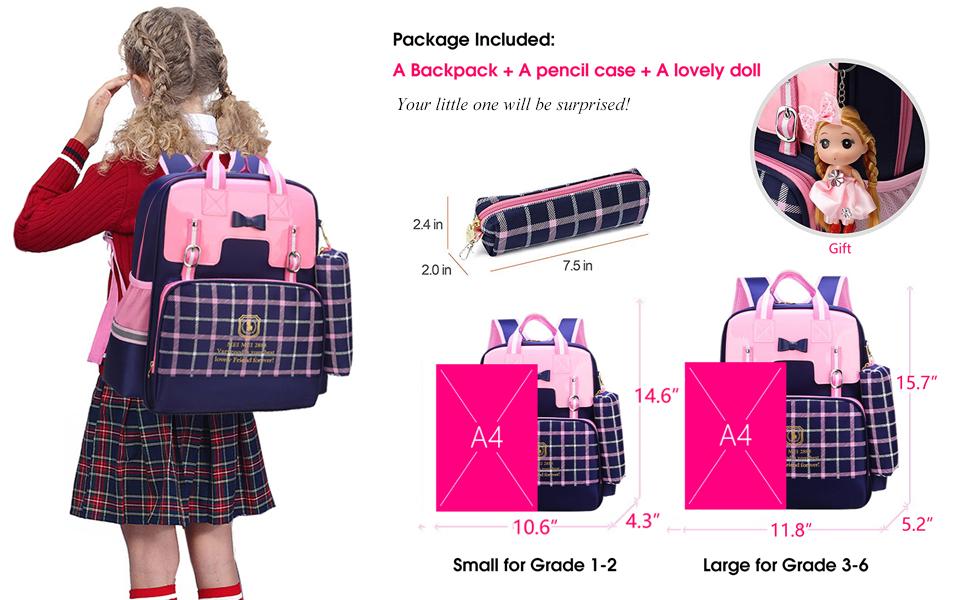 4d2700c9c5e Amazon.com   Gazigo Reflective Girls Cute School Backpack PU Leather ...