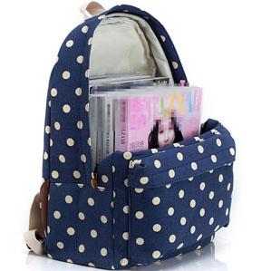 Amazon.com | Gazigo Blue Girls Laptop Backpack for Teenagers ...