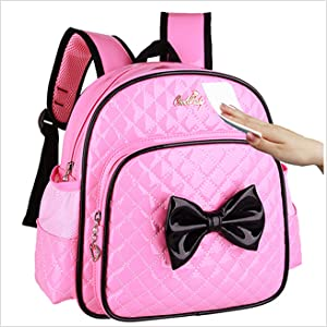 e1faca9aed The Girls Toddler Backpack is made from PU Leather