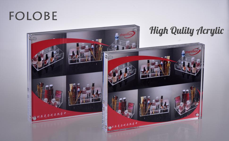Amazon.com - FOLOBE Magnetic Photo Acrylic Frame Double Sided ...