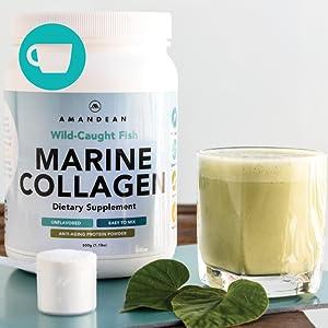 Paleo-friendly marine collagen, Fat Free Marine collagen,Gluten Free Marine collagen, fish protein,