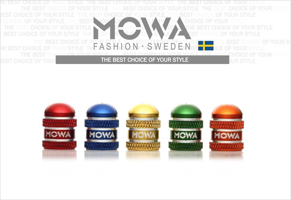 MOWA  Schrader Valve Cap American Type Blue