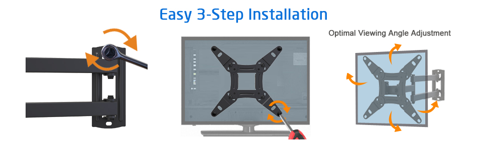 Easy 3-Step Installation