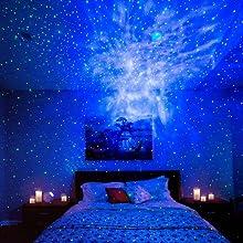 Blisslights Sky Lite Laser Projector W Led Nebula Cloud