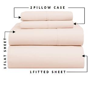 100% Egyptian Cotton Sheets, Cotton Sheets, 100% Cotton Sheets, Carressa Linen