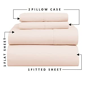 Cotton Sheets, Egyptian Cotton Sheets, King, Queen, Twin, Full. Pure Cotton, Sheet sets