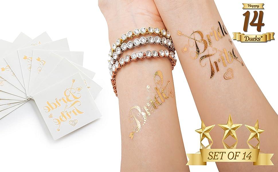Amazon.com: Bachelorette Party - Tatuajes temporales para ...