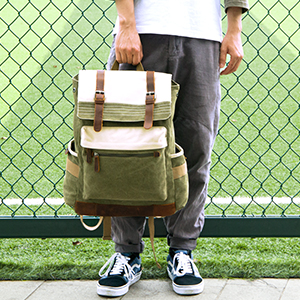 canvas rucksack for men