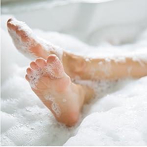 comfortable bath image