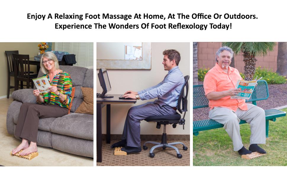 foot massager roller relaxation gift