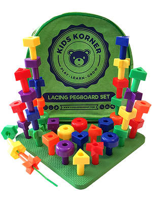kids korner, peg board, toys for toddlers, montessori toys, autism toys, occupational therapy, toys