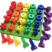 kids korner, learning shapes, learning colors, autism toys, occupational therapy, toddler toys