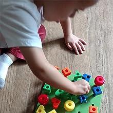 fine motor skills, kids korner, peg board, pegboard, stacking toys, lacing toys, lacing beads, toys