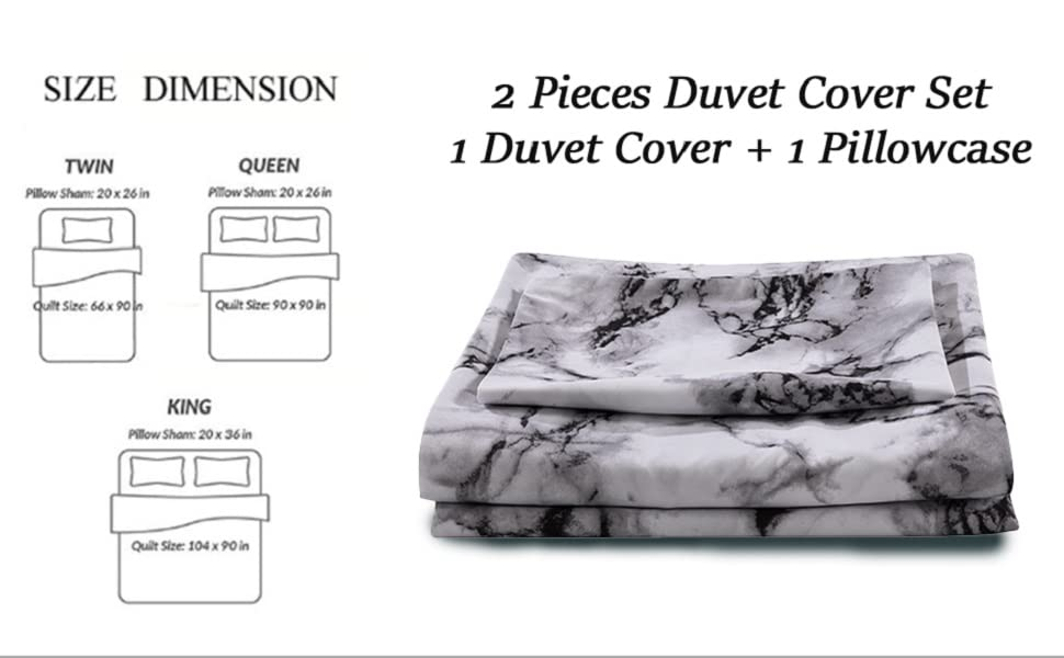 microfiber duvet cover set